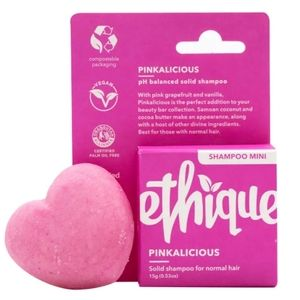 4 for $25 ETHIQUE PINKALICIOUS SOLID SHAMPOO BAR